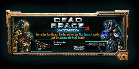 Dead Space 3 Limited Edition.