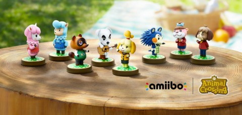 The initial wave of Animal Crossing amiibo