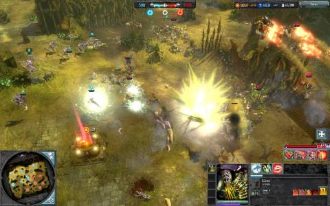 The graphics and effects look amazing, and battles can often tip based on how well you use your units.