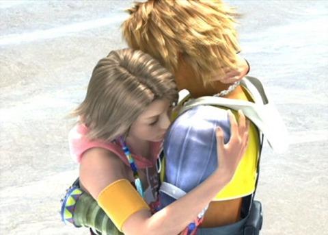Yuna and Tidus reunited