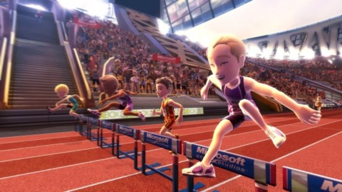 One of the track and field events