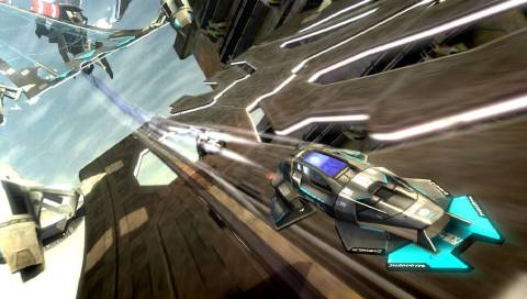 Personally, I'd take a big sacrifice in image quality if it meant getting the frame rate up. This is Wipeout! Speed is everything!