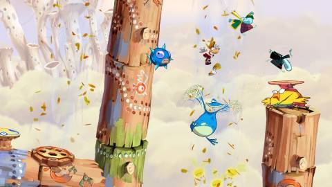 Hilarity ensues with Rayman & crew.