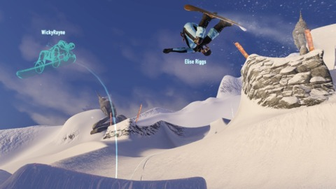 Engaging in rivalries with friends and strangers is the core tenet of what makes this SSX fly.