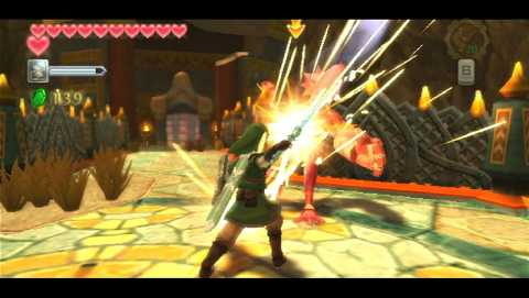 Skyward Sword is a terrific Zelda game, but it's also a very familiar game for many reasons.