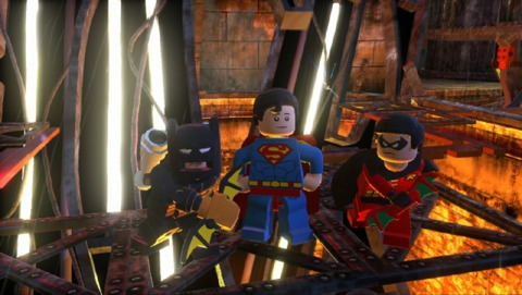 Nothing shall stand in the way of Superman's accursed quiff - not even Lego!