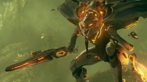 Halo 4 made a big splash to open the show.