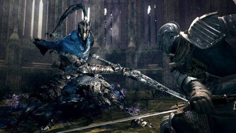 Artorias, corrupted by the Abyss