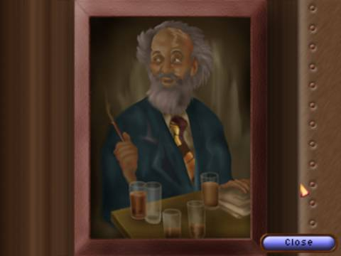 Ingame portrait of Joe Gould also known as The Deacon.