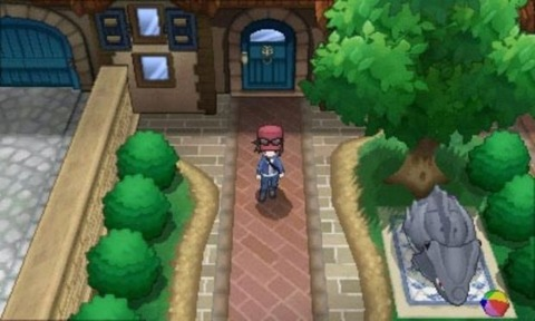 The overworld benefits greatly from the graphical overhaul