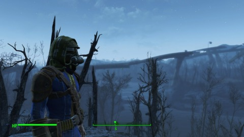 Fallout 4 can certainly look good in broad strokes, but it's in the finer details  where it can't keep up with modern gaming.
