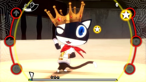 It's harder to comprehend the existence of Morgana's dancing shoes, than of the talking cat himself.