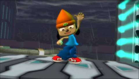PaRappa is one of the older (and better) characters on the roster.