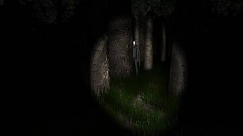 Slender Man stalks you throughout the forest.