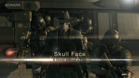 The first appearance of Skull Face in Ground Zeroes.