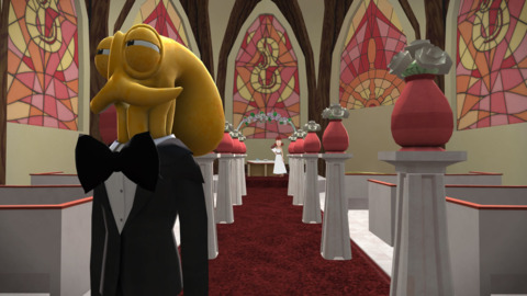 Meet Octodad. He's like most other dads, except for the part where he's an octopus.
