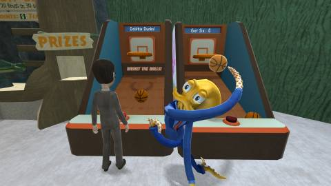 It's short, sometimes frustrating, and ends a little weird, but Octodad: Dadliest Catch is too charming not to recommend.
