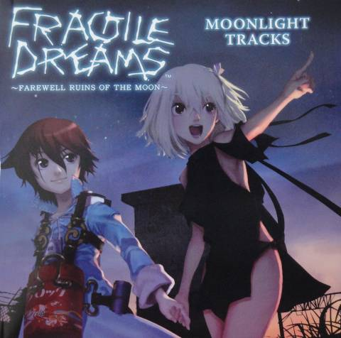 Front cover FRAGILE DREAMS ~FAREWELL RUINS OF THE MOON~ MOONLIGHT TRACKS
