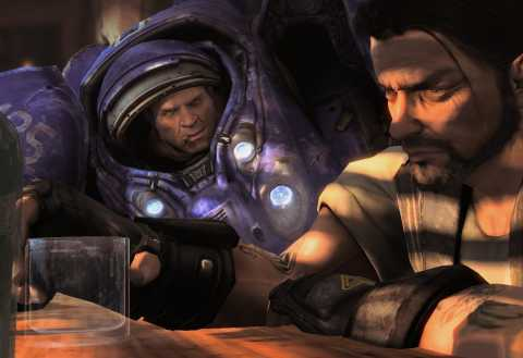 Tychus talking to Raynor.