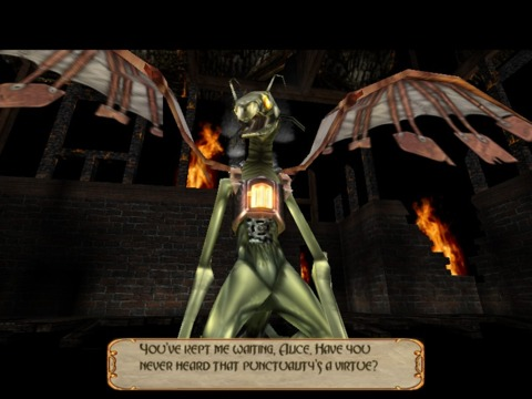 The Jabberwock as it appears in American Mcgee's Alice.