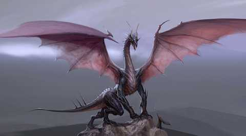 A High Dragon before it is corrupted.