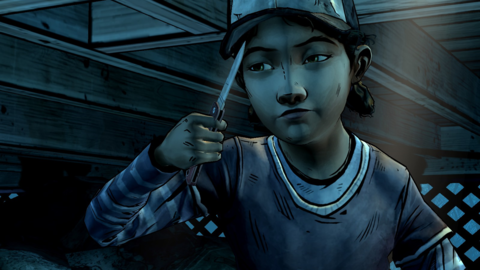 Clementine's outlook on the world has hardened in the two years since season one.