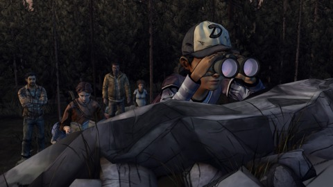 Clem and her new group leave their cabin and head north.