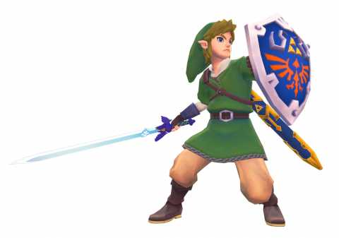 Sir Link, Knight of the Goddess
