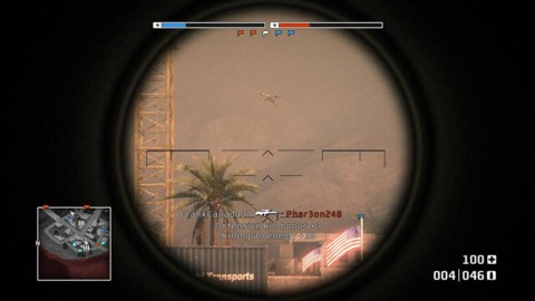 Sniping almost always involves manipulation  of  a scope