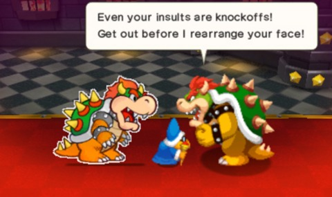 After Bowser's Inside Story, even two Bowsers isn't enough.