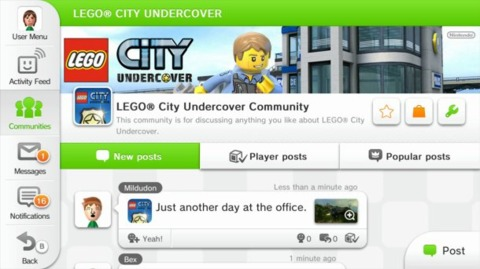LEGO City Undercover Community