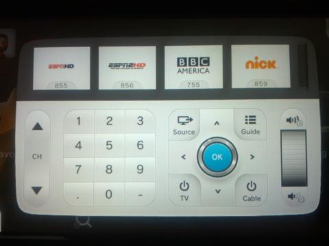 The TVii universal Remote