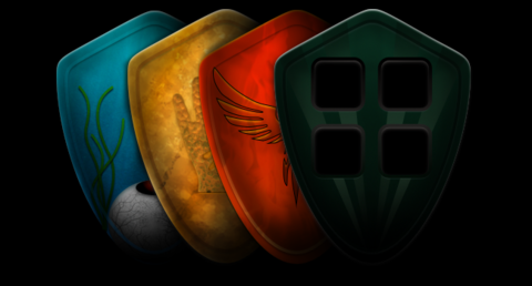 An teaser of the faction shields