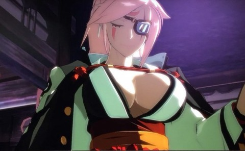 Baiken: still the hottest one-armed chick in video games