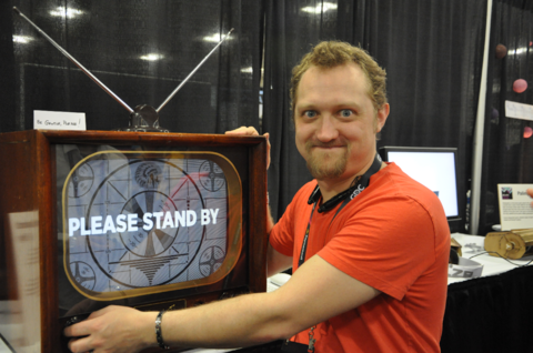 Jerry Belich's Please Stand By is a touch-screen game like none other.