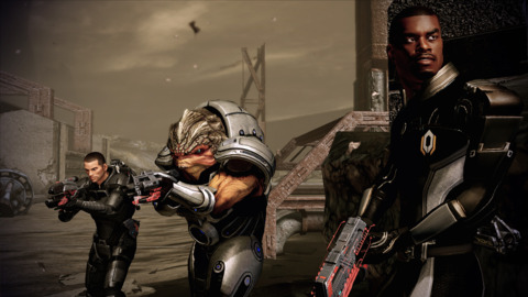 Shepard's got some tough new friends on his side.