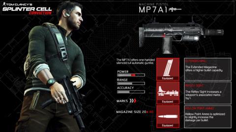 MP7A1 Machine Pistol's Stats