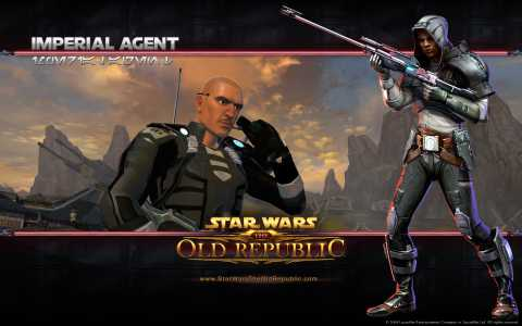 Imperial Agent concept