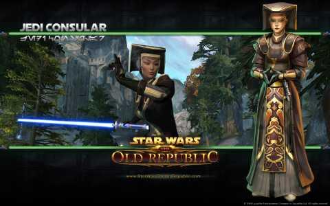 Jedi Consular concept