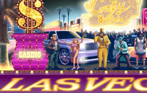 Balrog's home stage, Las Vegas Nevada.
