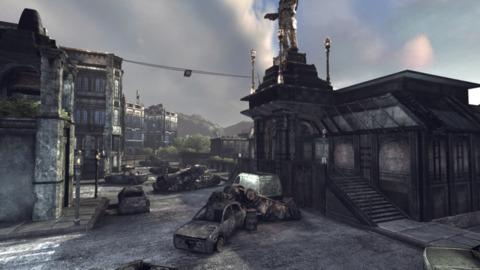 Gridlock as seen in Gears of War