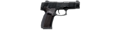 The MP-443 Grach, as it appears in Bad Company 2.