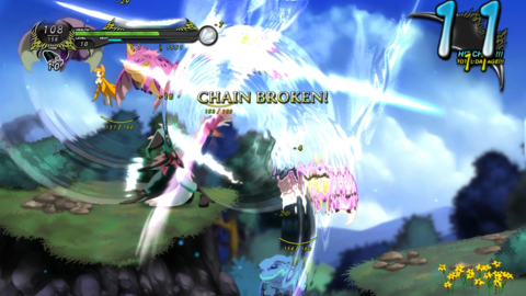 Dust's heart is its exceptionally fast-paced and responsive combo-based fighting system.