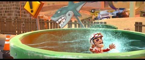 Don't get eaten by a shark!