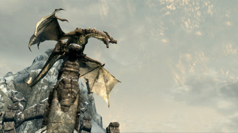 Dragons are a big focus in Skyrim