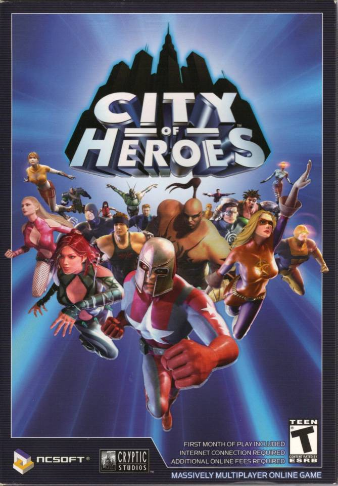 It's been hanging around since 2004, but as of 2012, City of Heroes shall be no more.
