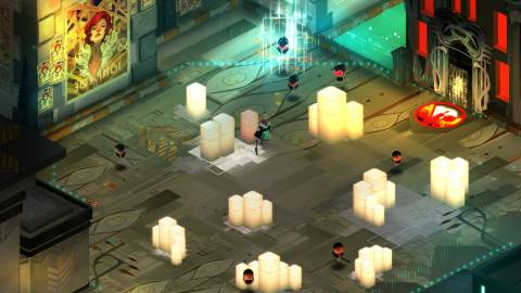 Transistor was one of several noteworthy indie games to come out heavily in favor of the PlayStation platform.