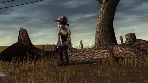 Clementine... all on her own.