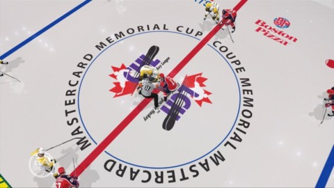 The Cup is Memorial! The sponsor is MasterCard!