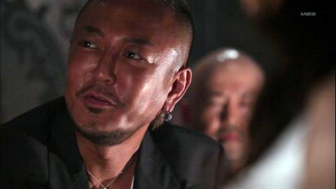 Toshihiro Nagoshi, looking a lot scarier than he did during his Super Monkey Ball days.
